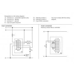 VDO ViewLine Combi Snelheid en Brandstof Zwart 110mm