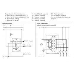 VDO ViewLine Combi Toeren en Trim Zwart 110mm