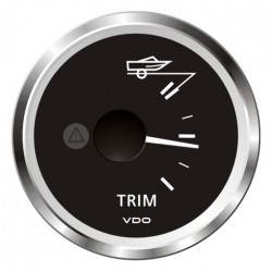 VDO ViewLine Mercury Trim gauge Black 52mm