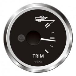 VDO ViewLine Mercury Trimmeter Zwart 52mm