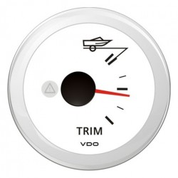 VDO ViewLine Mercury Trim gauge White 52mm