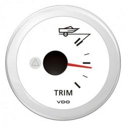 VDO ViewLine Trimanzeiger Weiß 52mm