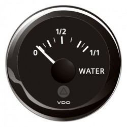 VDO ViewLine Fresh Water Level 4-20mA Black 52mm
