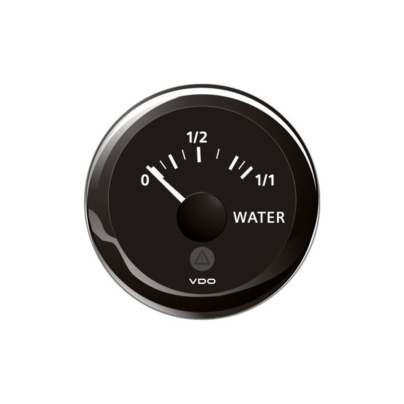 Vdo Viewline Fresh Water Level 4 20ma Black 52mm