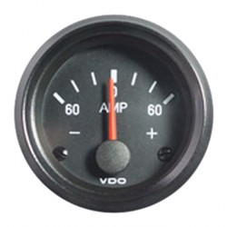 10 Pieces VDO Cockpit International Ammeter gauge 52 mm 60A
