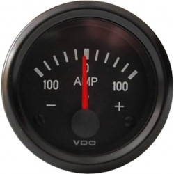 VDO Cockpit International Ammeter gauge 52 mm 100A 52mm