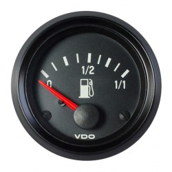 VDO Cockpit International Brandstofniveau 3-180 Ohm 52mm 12V