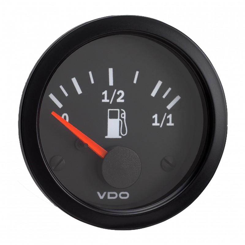 VDO Cockpit Vision Brandstofniveau 90-0.5 Ohm 52mm 12V