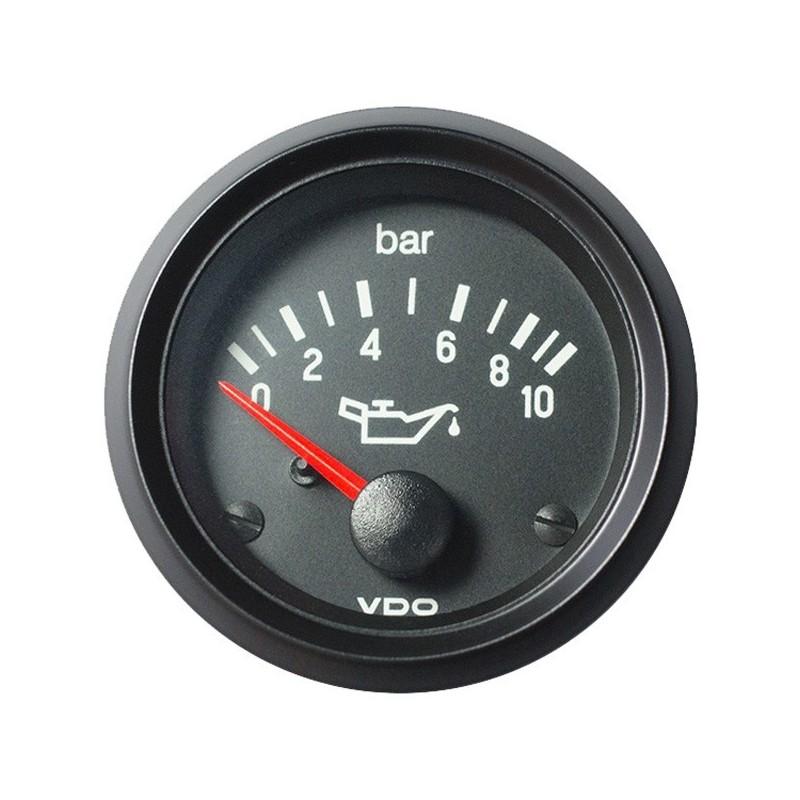 VDO Cockpit International Motoroliedruk 10Bar 52mm 12V