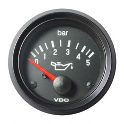 VDO Cockpit International Motor Öldruck 5Bar 52mm 12V