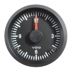 VDO Cockpit International Quartz clock 52mm 24V