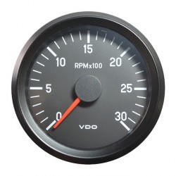 10 Pieces VDO Cockpit International Tachometer 3.000 RPM 80mm 12V