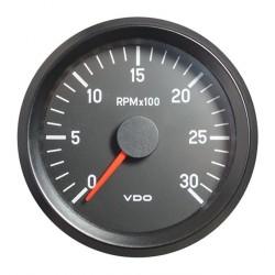 10 Stück VDO Cockpit International Drehzahlmesser 3.000 RPM 80mm 24V