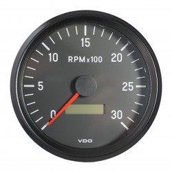VDO Cockpit International Tachometer 3.000 RPM 100mm 12-24V