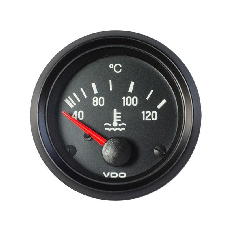 VDO Cockpit International Koelwatertemperatuur 120°C 52mm 24V