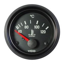 VDO Cockpit International Kühlwassertemperatur 120°C 52mm 12V