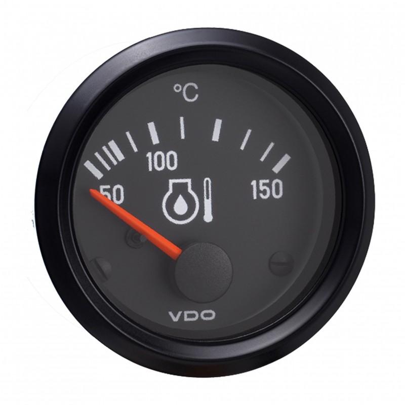 VDO Cockpit International Motorolietemperatuur 150°C 52mm 12V