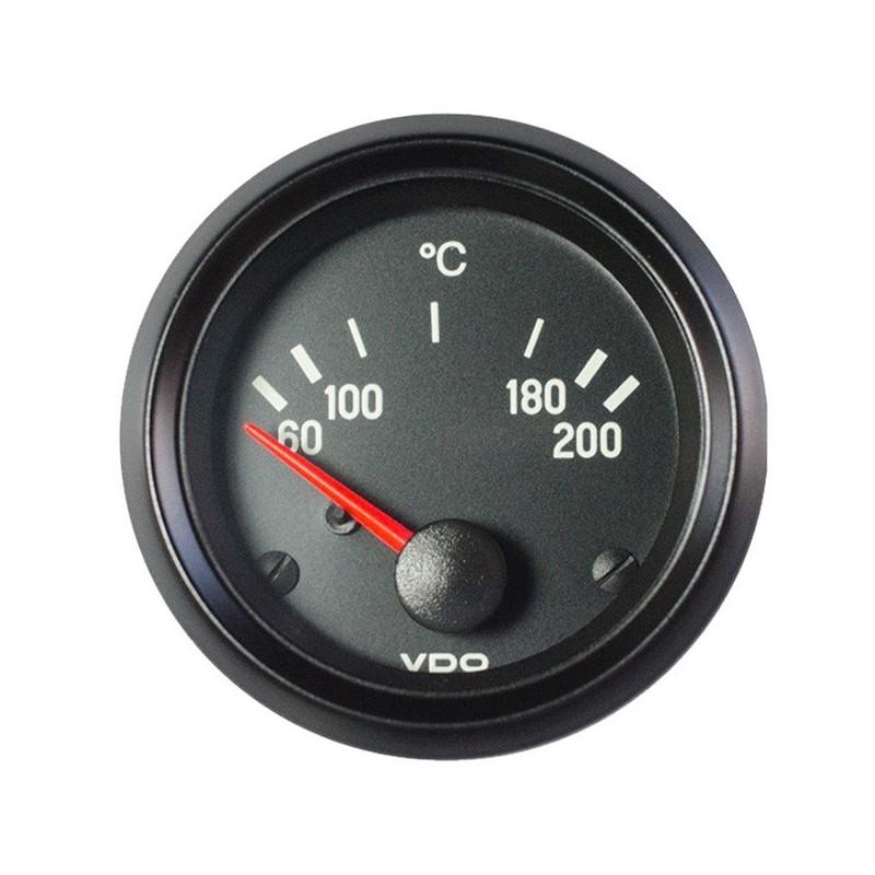 10 Stuks VDO Cockpit International Olietemperatuur 200°C 52mm 12V