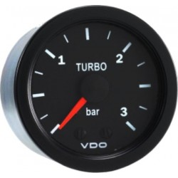 VDO Cockpit International Pressure gauge 0 tot 3Bar 52mm