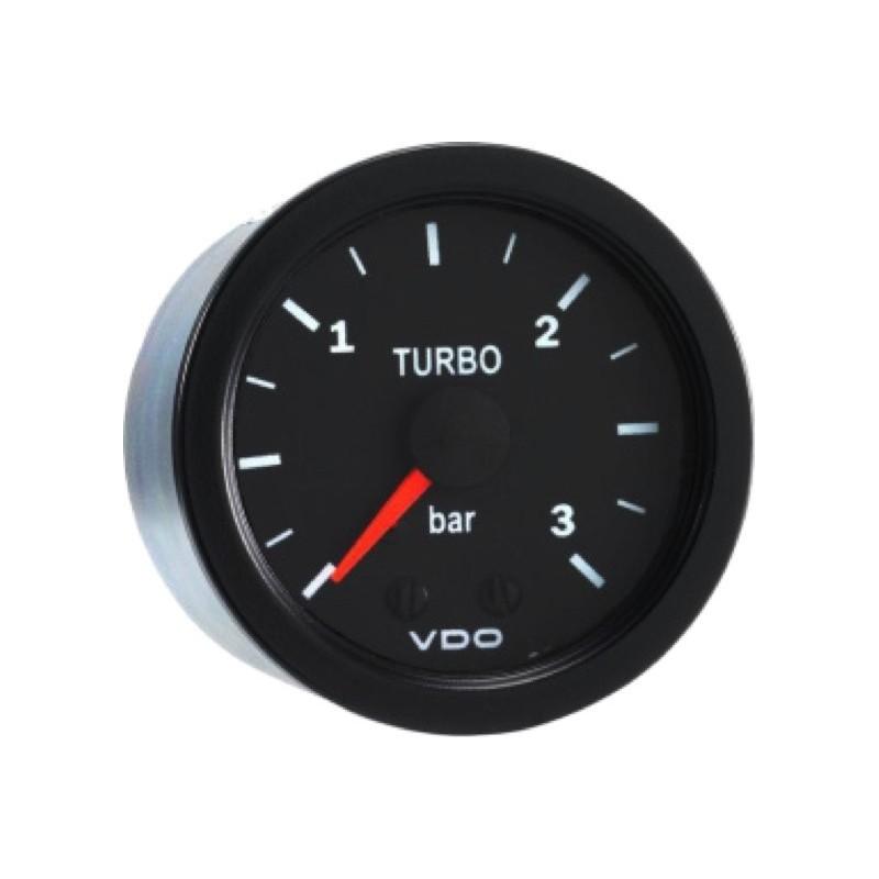 VDO Cockpit International Drukmeter 0 tot 3Bar 52mm