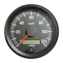 VDO Cockpit International Speedometer 120 Km/h 80mm 12-24V