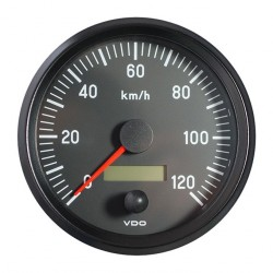 VDO Cockpit International Speedometer 120 Km/h 100mm 12-24V