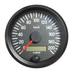 VDO Cockpit International Speedometer 200 Km/h 80mm 12-24V