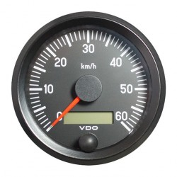 VDO Cockpit International Speedometer 60 Km/h 80mm 12-24V