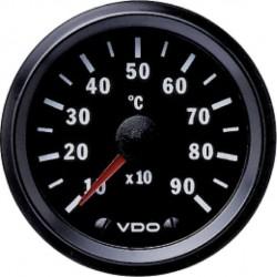 VDO Cockpit International Pyrometer 900°C Zwart 52mm