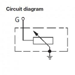 VDO Druksensor 0-5 Bar - M12