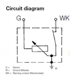 Oil Pressure Sending Unit Wiring Diagram - Schematic Diagrams