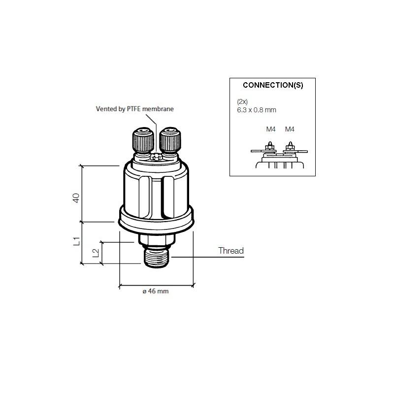 vdo kitas wiring diagram vdo ds pressure sender 0 25 bar 1 8 27 nptf  vdo ds pressure sender 0 25 bar 1 8
