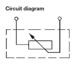 VDO DS Druksensor 0-5 Bar - 1/8-27 NPTF