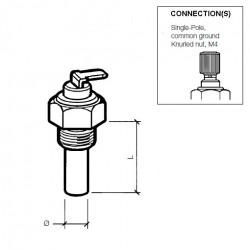 VDO Öltemperatursensor 150°C - M16