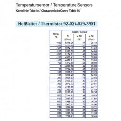 VDO Luchttemperatuursensor 50°C