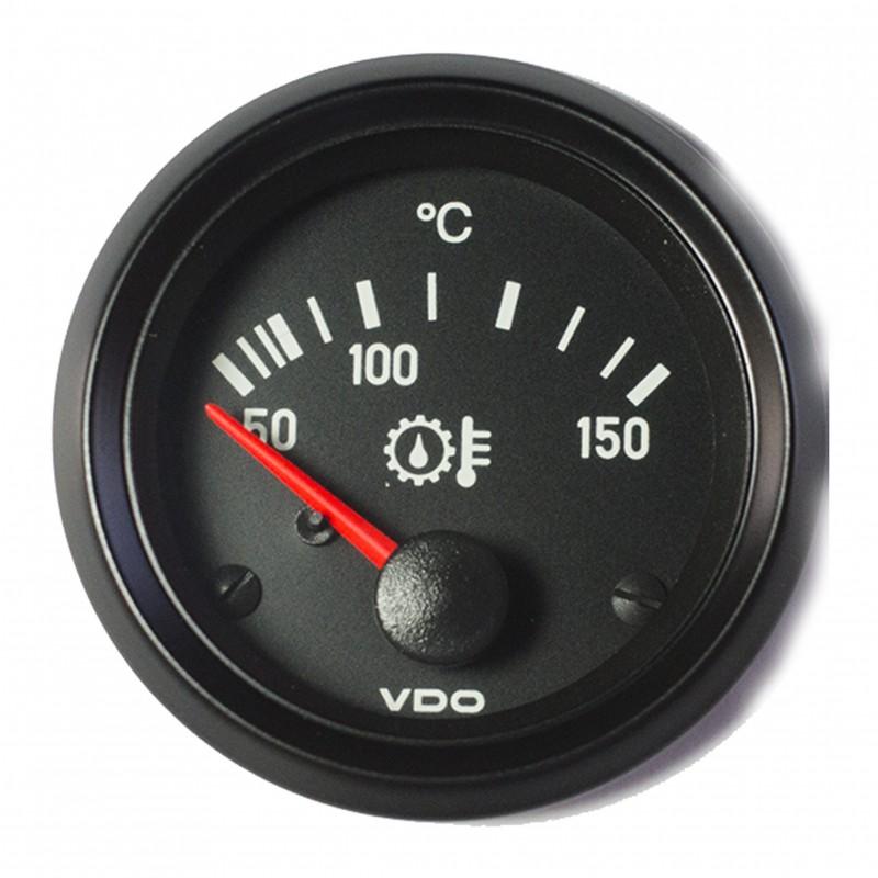 VDO Cockpit International Transmissie olietemperatuur 150°C 52mm 24V